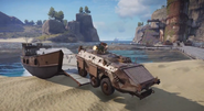 JC3 landing craft and APC