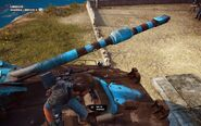 Rebellion CS Odjur Main Armament