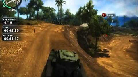 Just Cause 2 Race challenge Crossing Lanes