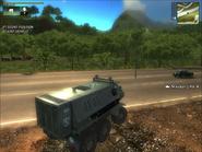 Military Meister LAV 4 Rear