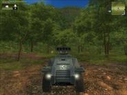 San Esperito Military Harland DTWV-2 Rocket Battery Front