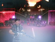 Kampung Bahari MV V880 and MV Quartermaster