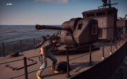 Black Hand Corvette Main Gun