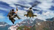 UH-10 Chippewa grappling