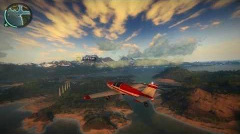 Just Cause 2 - Peer Airhawk