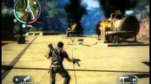 Just Cause 2 - Kem Hang Johan - military base