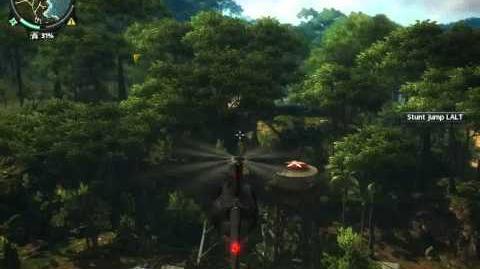 Just Cause 2 Magic paratrooper glitch