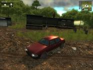 Red Scando 700 Sedan