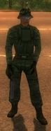 Guerrilla Camouflage Soldier