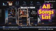 The Hip Hop Dance Experience - All Songs List on Xbox Kinect-0