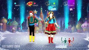 Moskau- Dancing Bros