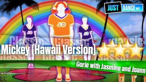 Mickey (Hawaii Version) - Just Dance Wii