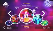 Cryingbloodmenu