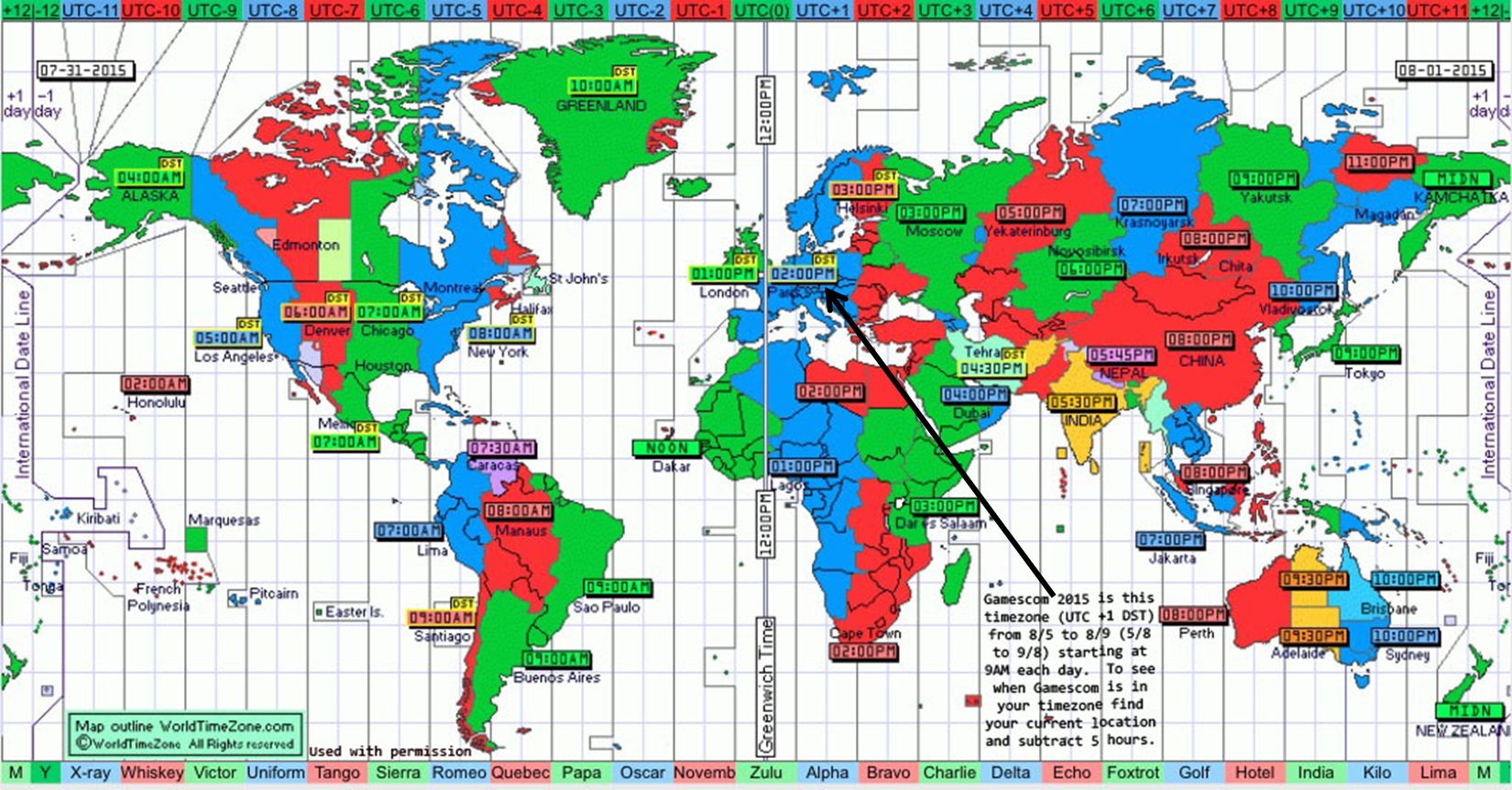 World Map Time Zones Live Mody Wargaming