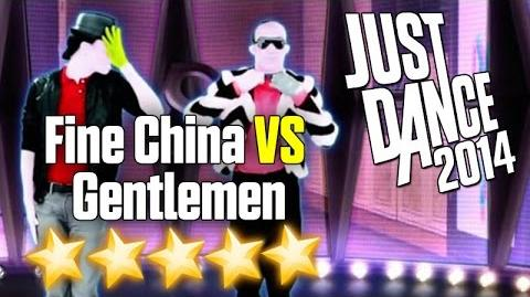Just Dance 2014 - Fine China VS Gentlemen (Battle) - 5 stars