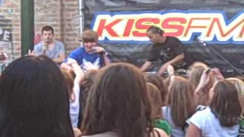Justin Bieber KISS FM RARE Live Performance at Cooperstown in Phoenix