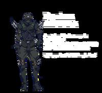 K Missing Kings, Douhan ninja armor