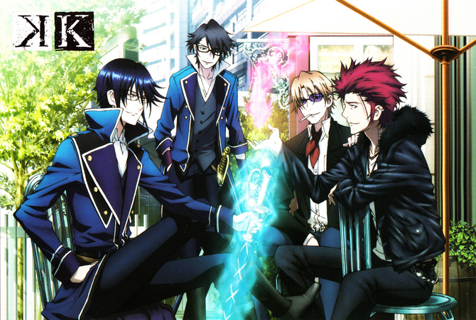 K Project Wiki, a database about the K-Project series by GoRA.