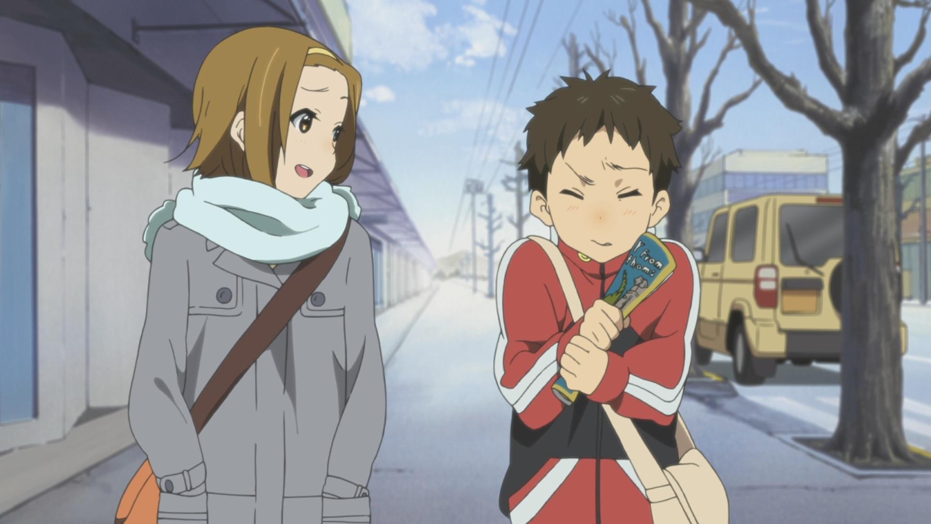 Ritsu and Satoshi are close  K On Ritsu And Mio