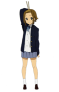 Ritsu with her drumsticks