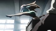 Sawako's epic running scene