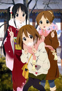 Mio, Yui and Ui