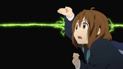 Yui discovers the class constellation