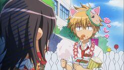 Takumi as a cat