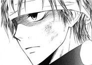 A close up gouki in the manga