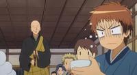 Hinata's lack of food