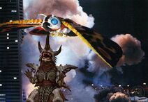 Mothra vs Bagan