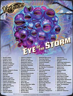 Eye of the Storm checklist