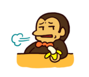 LINE sticker - Chimpan Z