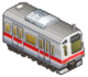 Red Metro Train (Station Manager)