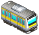 Yellow Striped Train (Station Manager)
