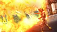 Kuuga Ultimate flamethrower