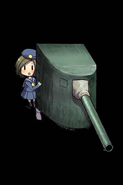 14cm Single Gun Mount 004 Full