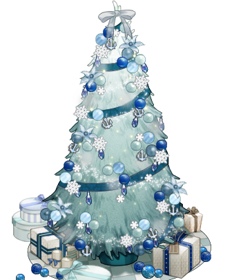 Image - White and blue Christmas tree.png | Kancolle Wiki ...