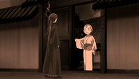 Sumiko and Tokiko talking