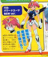 Natsumi in her battle gundam suit