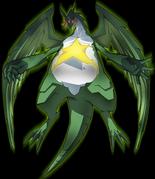 Kerorp as a dragon