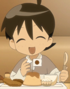 Lil Fuyuki and food