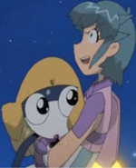 Brutal Momoka and Tamama huggle