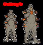 Ira Gamagōri body (Shackle Regalia)