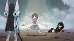 Mako interupted the battle