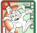 Red/Green Sinister Bunny
