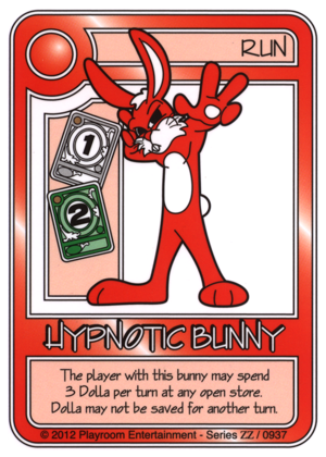 0937 Red Hypnotic Bunny-thumbnail