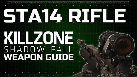 StA14 Rifle (DLC Weapon) - Killzone Shadow Fall Weapon Guide