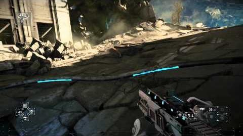 Killzone Shadow Fall - Chap 8 The Dead Mobile Scan Unit (Destroy Petrusite Drilling Unit) ATACS