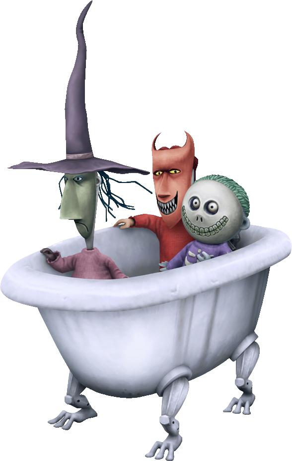 Nightmare Before Christmas Kids Bathtub